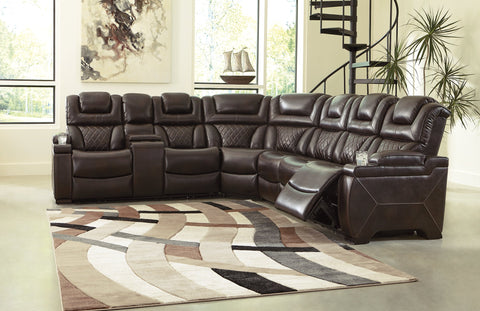 Warnerton Signature Design by Ashley Sectional image