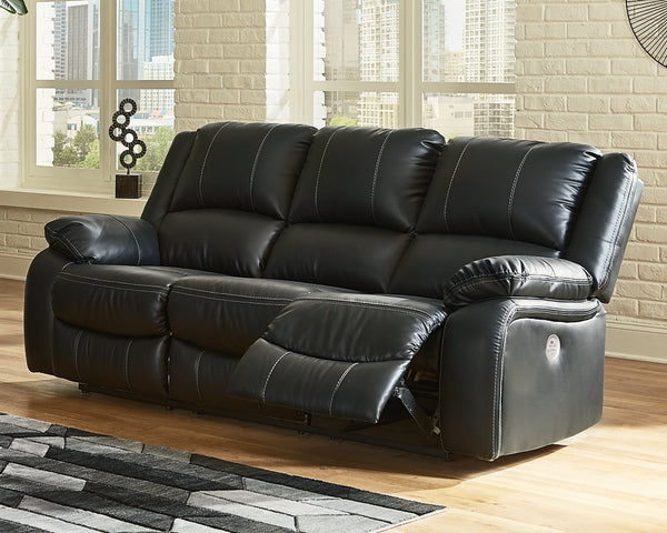 Calderwell Signature Design by Ashley Reclining Power Sofa image