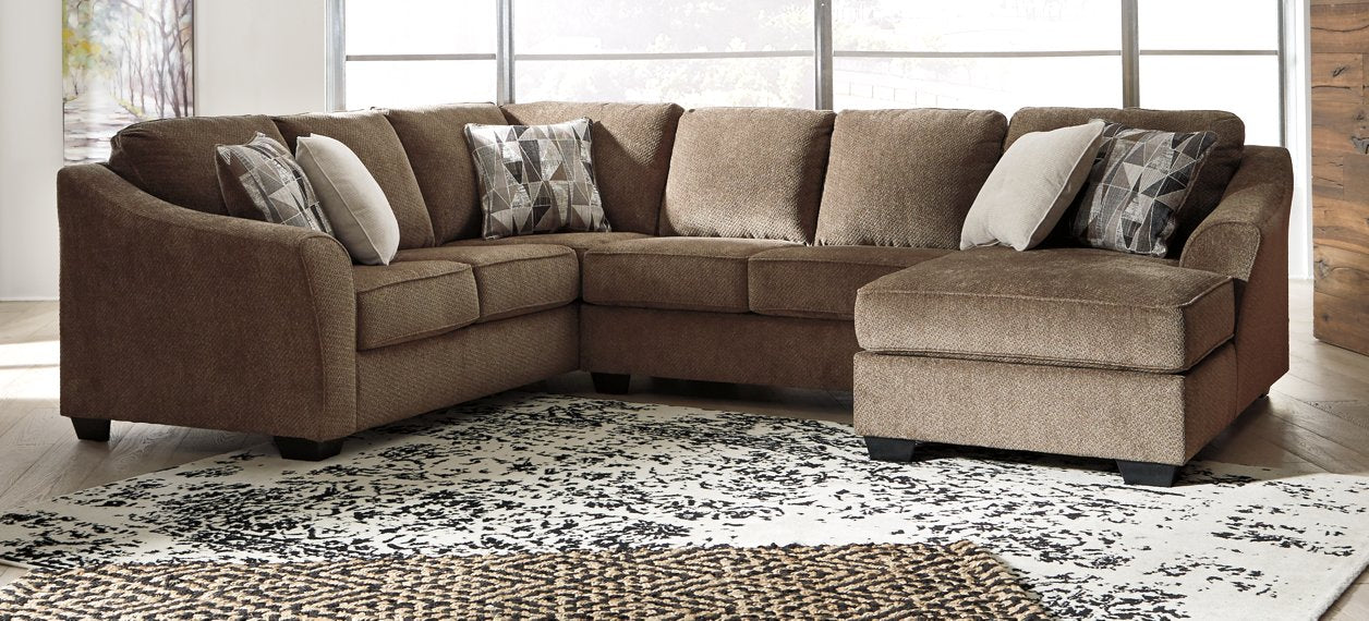 Graftin Benchcraft 3-Piece Sectional with Chaise image