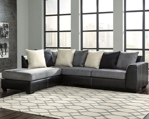 Jacurso Signature Design by Ashley 2-Piece Sectional with Chaise image