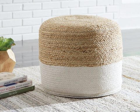 Sweed Valley Signature Design by Ashley Pouf image