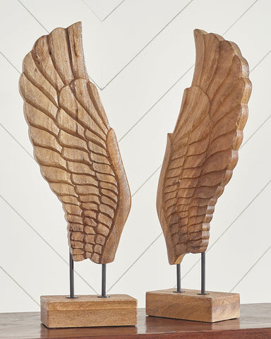 BRANDEN Signature Design by Ashley Sculpture Set of 2