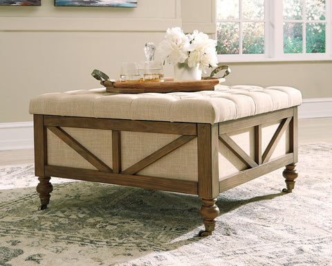 Kyleman Signature Design by Ashley Ottoman image