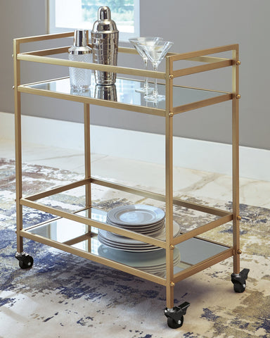 Kailman Signature Design by Ashley Bar Cart