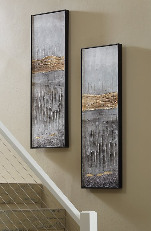 Aniyah Signature Design by Ashley Wall Art Set of 2 image