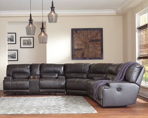McCaskill Signature Design by Ashley 3-Piece Power Reclining Sectional