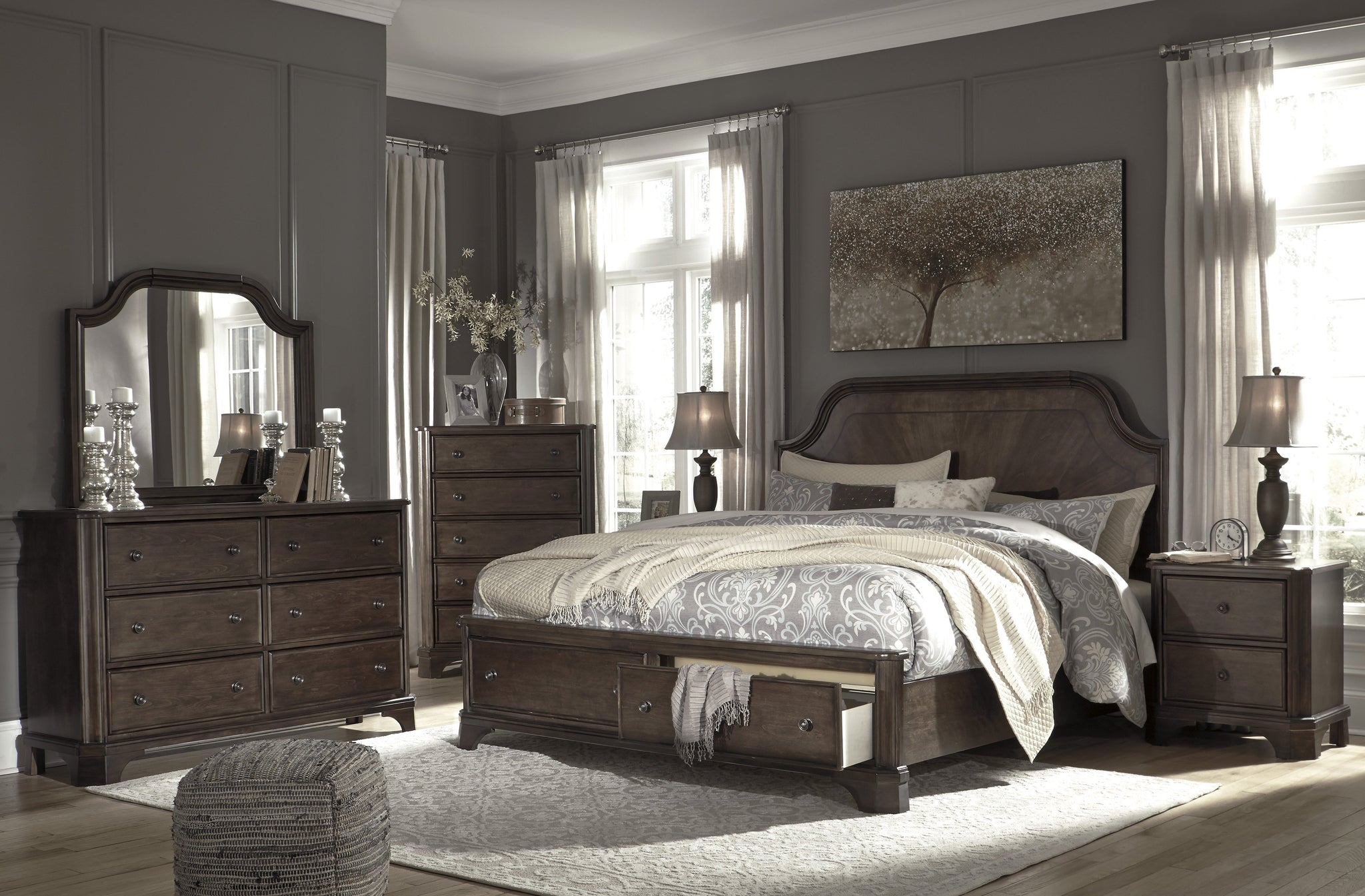 Adinton Signature Design 5-Piece Bedroom Set image