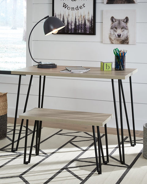 Blariden Signature Design by Ashley Desk wBench image