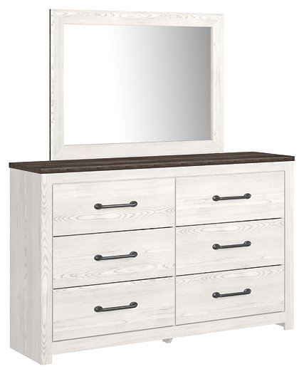 Gerridan Signature Design by Ashley Dresser and Mirror image