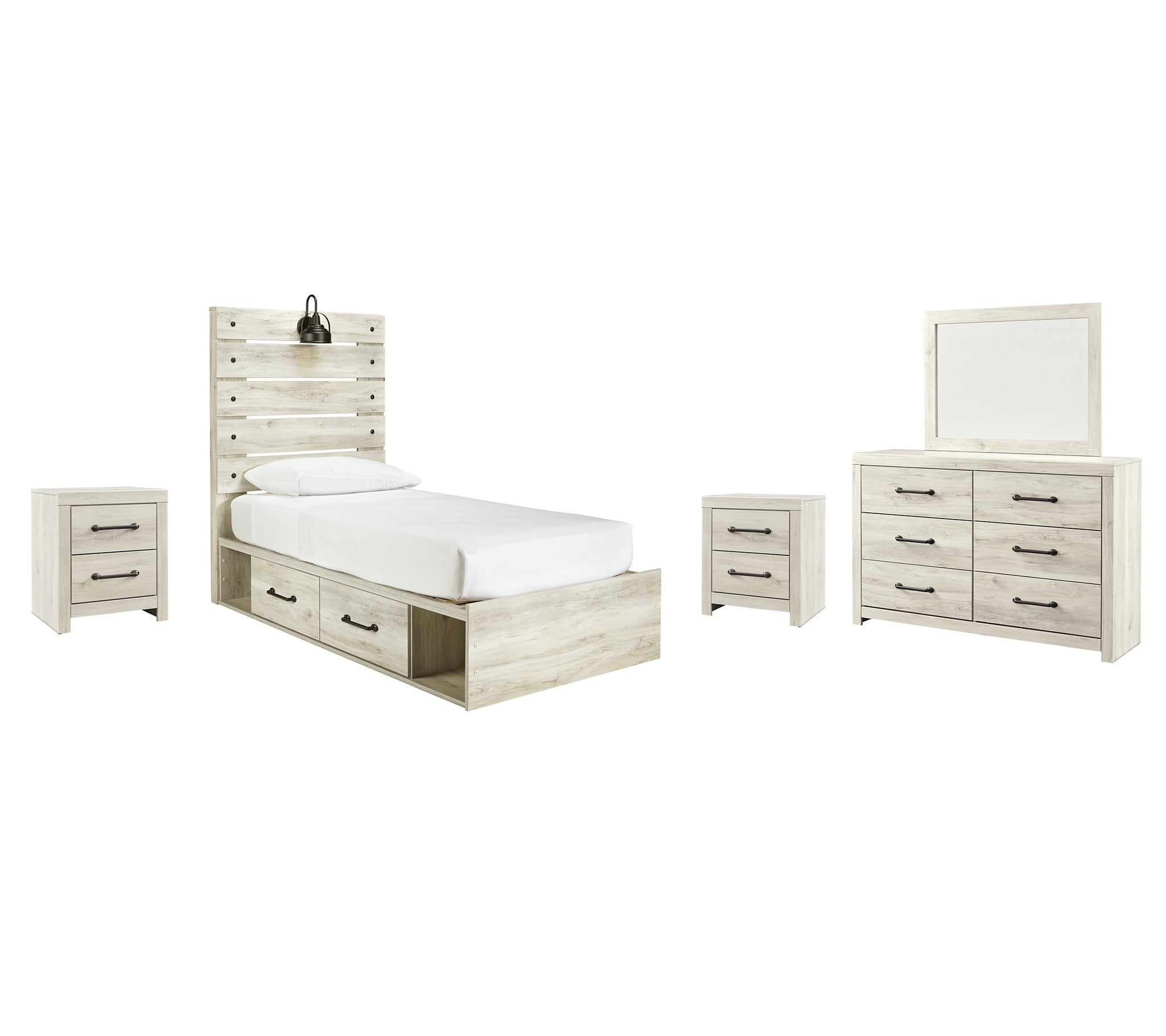 Cambeck Signature Design 7-Piece Youth Bedroom Set with 2 Storage Drawers image