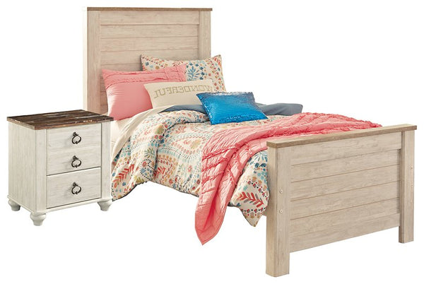Willowton Signature Design 4-Piece Bedroom Set