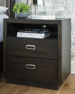 Hyndell Signature Design by Ashley Nightstand image