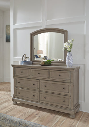 Lettner Signature Design by Ashley Dresser and Mirror image