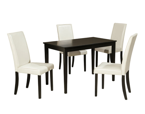 Kimonte Signature Design Dining Table 5-Piece Dining Room Package
