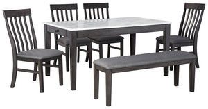 Luvoni Benchcraft 6-Piece Dining Room Package image