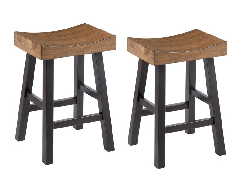 Glosco Signature Design Barstool 2-Piece Bar Stool Package
