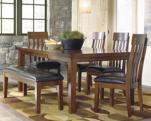 Ralene Signature Design Dining Table 6-Piece Dining Room Package