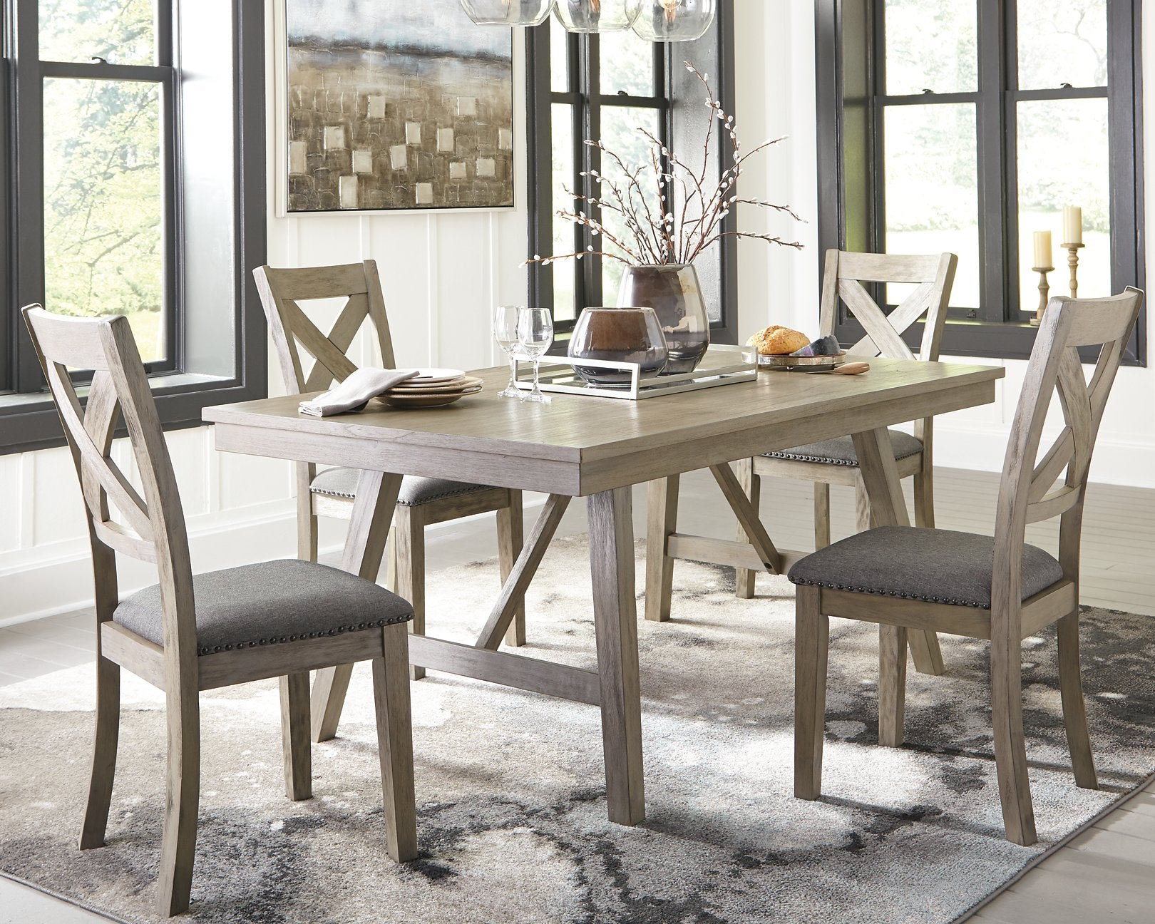 Aldwin Signature Design by Ashley Dining Table