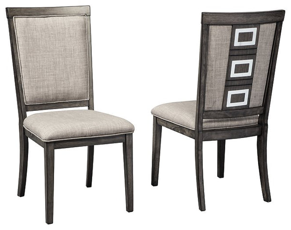 Chadoni Signature Design Dining Chair 2-Piece Dining Chair Package