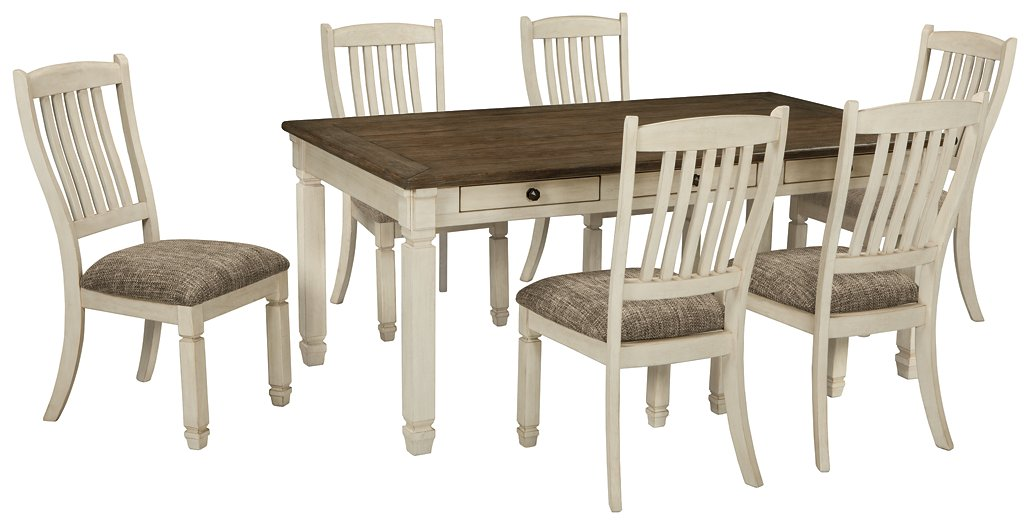 Bolanburg Signature Design Dining Table 7-Piece Dining Room Package
