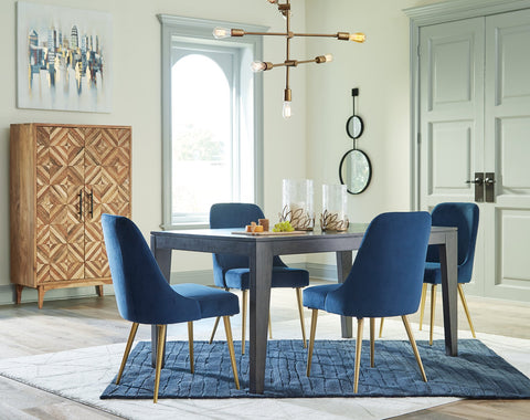 Trishcott Ashley Rectangular Dining Room Table image