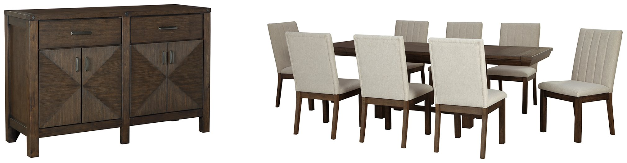 Dellbeck Millennium 10-Piece Dining Room Package image