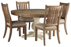 Grindleburg Signature Design 5-Piece Dining Room Package image