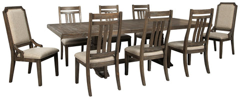 Wyndahl Signature Design 9-Piece Dining Room Package image