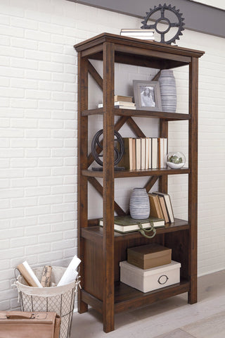 Baldridge Signature Design by Ashley Bookcase image