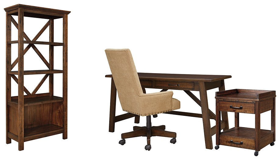 Baldridge Signature Design 4-Piece Home Office Set
