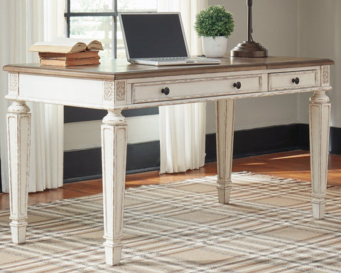 Realyn Signature Design by Ashley Home Office Lift Top Desk image