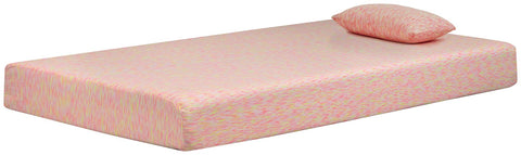 iKidz Pink Sierra Sleep by Ashley Mattress image