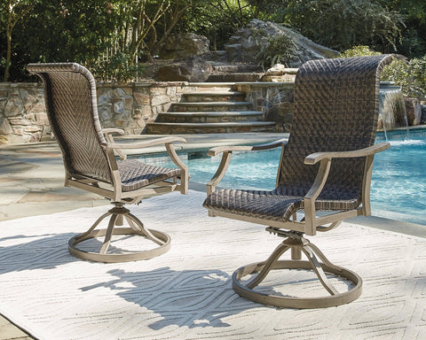 Windon Barn Signature Design by Ashley Outdoor Dining Chair Set of 2