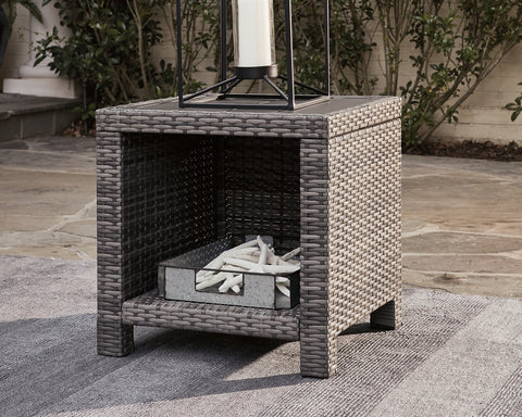 Salem Beach Signature Design by Ashley Outdoor End Table