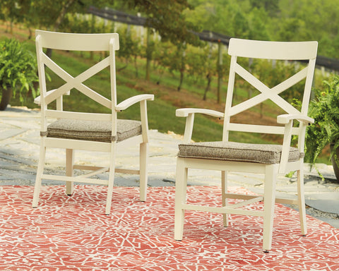 Preston Bay Signature Design by Ashley Outdoor Dining Chair Set of 2