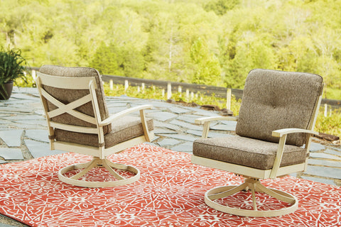 Preston Bay Signature Design by Ashley Outdoor Lounge Chair Set of 2