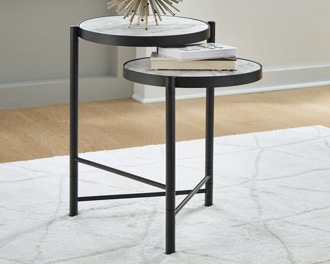 Plannore Signature Design by Ashley Round End Table image