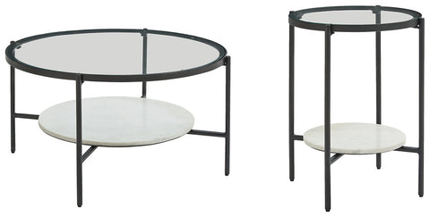 Zalany Signature Design 2-Piece Table Set image