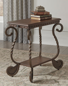 Rafferty Signature Design by Ashley End Table Chair Side image