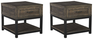 Johurst Signature Design 2-Piece End Table Set