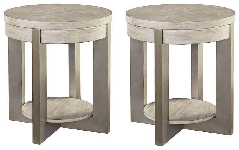 Urlander Signature Design 2-Piece End Table Set image