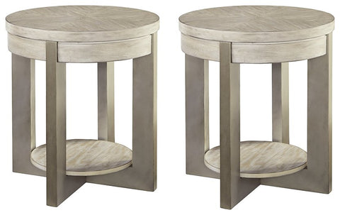 Urlander Signature Design End Table 2-Piece End Table Package