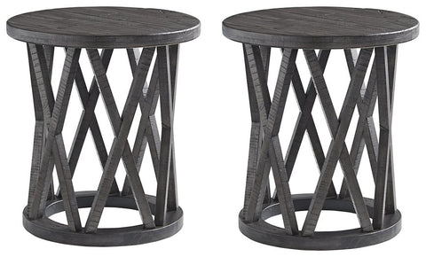 Sharzane Signature Design End Table 2-Piece End Table Package