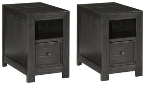 Gavelston Signature Design Chairside 2-Piece End Table Set image