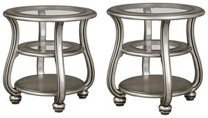 Coralayne Signature Design 2-Piece End Table Set