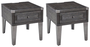 Todoe Signature Design 2-Piece End Table Set