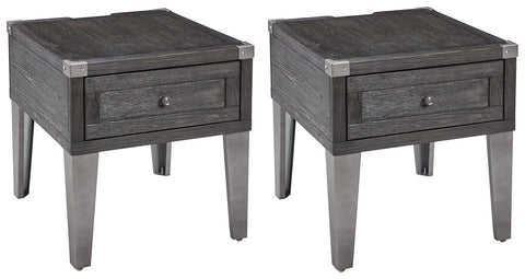 Todoe Signature Design End Table 2-Piece End Table Package