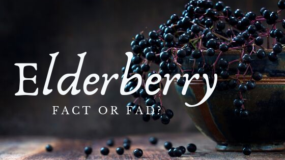 Elderberry: Fact or Fad?