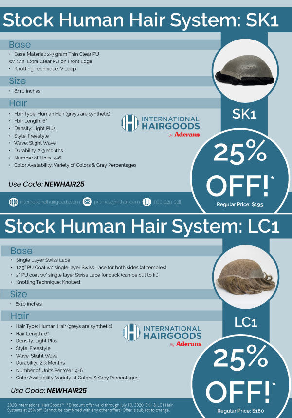 promo code human hair systems