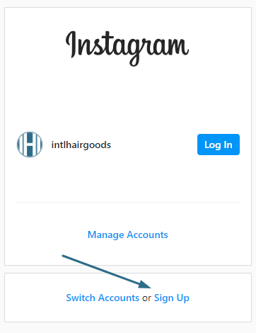 create instagram page